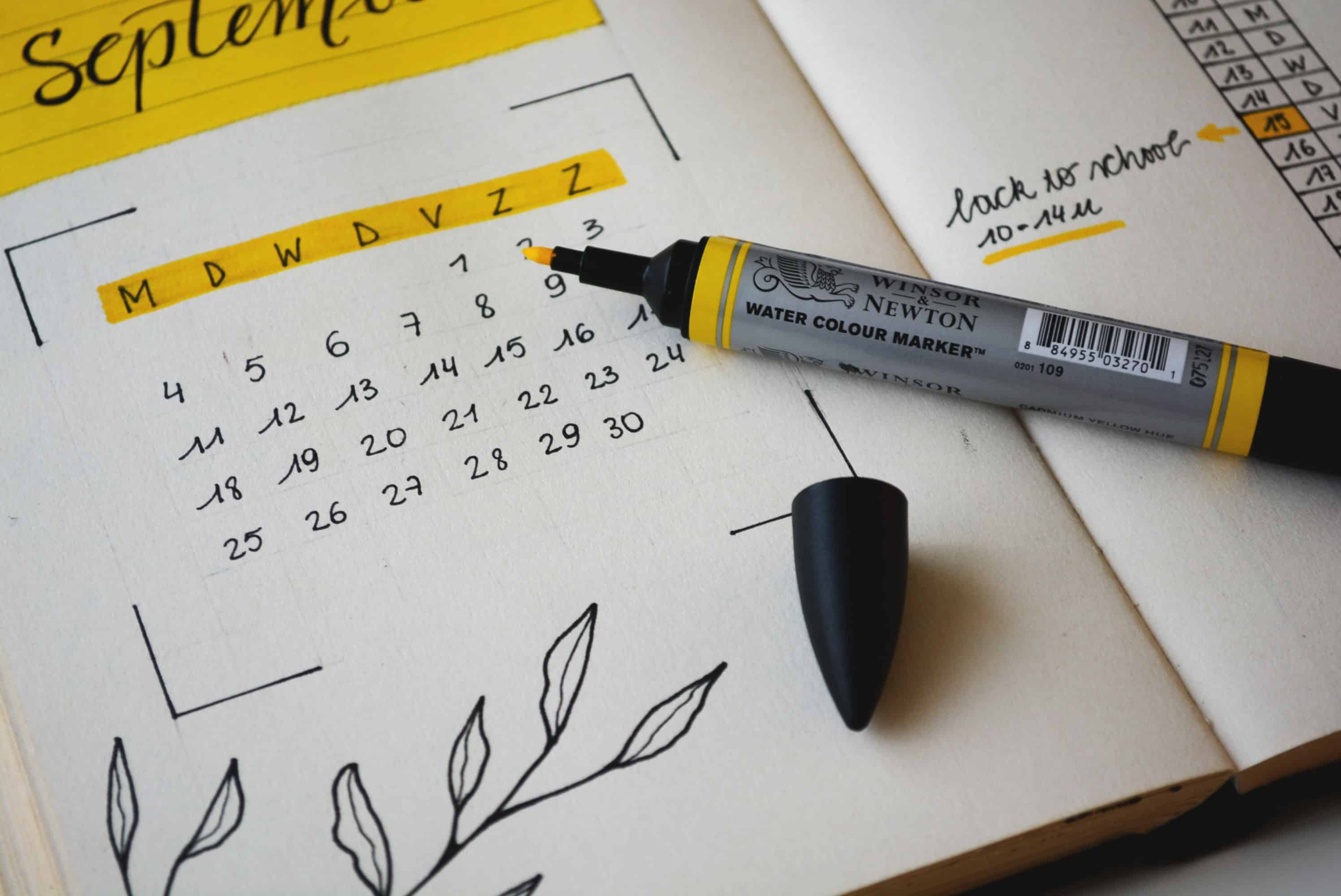 Calendar for scheduling ABA Therapy